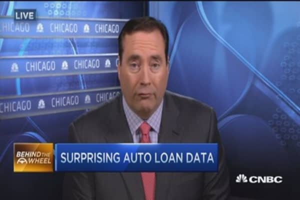 Average car loan approaching $500 a month
