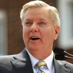 Republican presidential candidate U.S. Senator Lindsey Graham formally announces his campaign for the 2016 Republican presidential nomination in Central, South Carolina June 1, 2015.