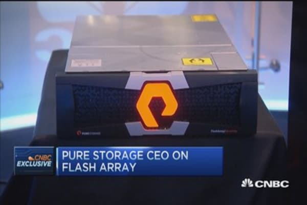 Pure Storage Unveils FlashArray//m