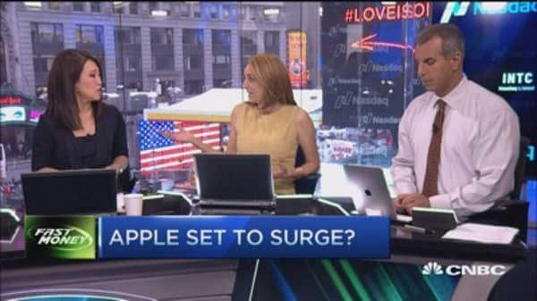Apple set to surge?