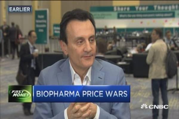 Biopharma price wars