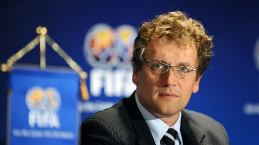 FIFA Secretary General Jerome Valcke.