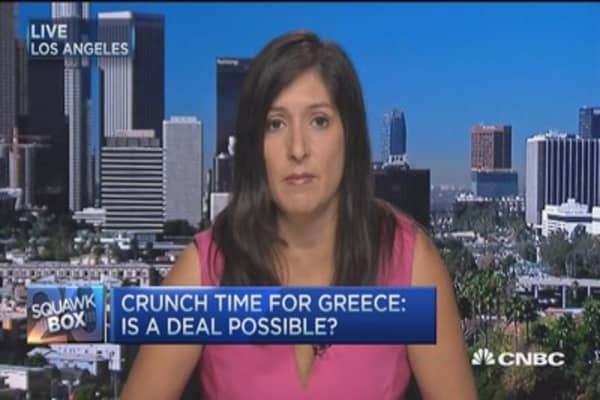 Greek exit a 'slippery slope': Pro