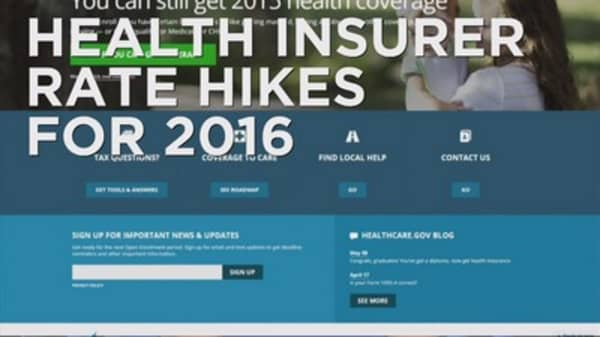 Health insurance rates may go up