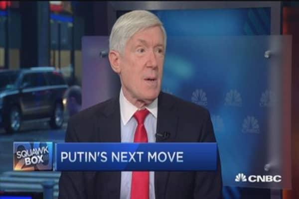 Russians 'stirring things up' again: Robert Hormats