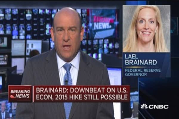 Fed's Brainard: Downbeat on US economy