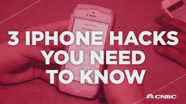 3 iPhone hacks you need to know