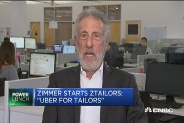 George Zimmer back with zTailors
