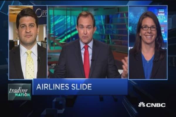 Trading Nation: Airlines slide