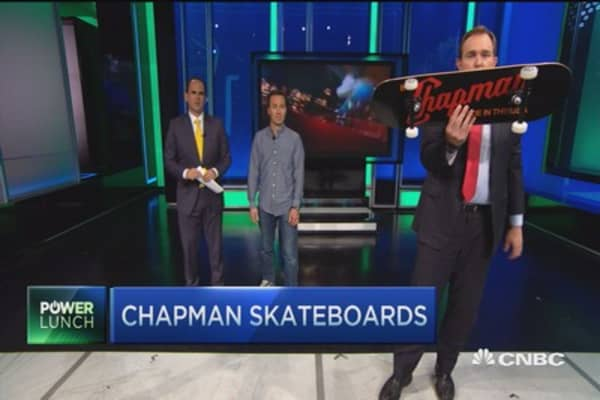 Made in the USA: Chapman Skateboards
