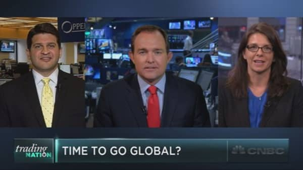 Do global markets offer better opportunities?