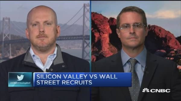 All for one vs. one for one; Silicon Valley vs. Wall St.