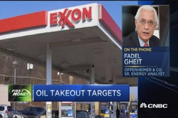 Oil mega merger looming?