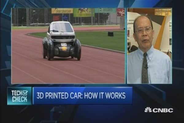 Where to find a 3D-printed car in Singapore