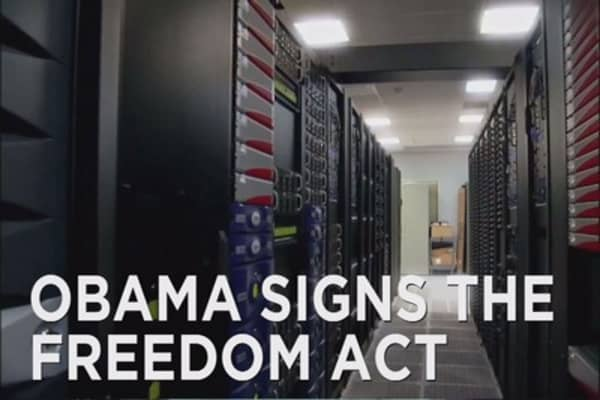 Obama signs Freedom Act into law