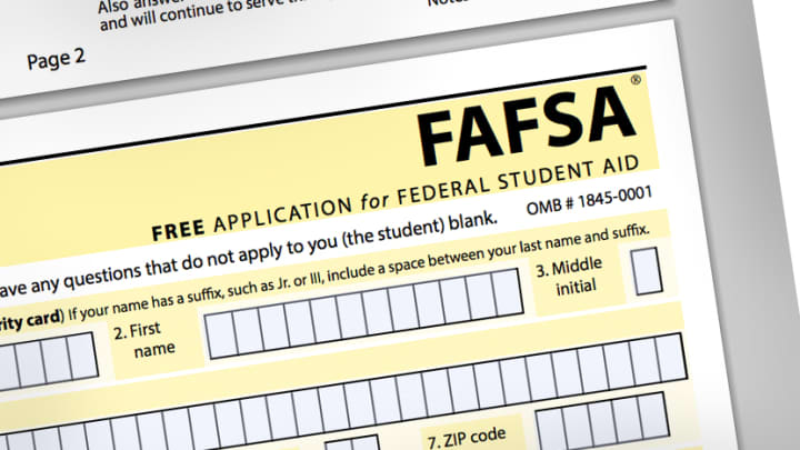 FAFSA change means students can apply earlier for financial aid