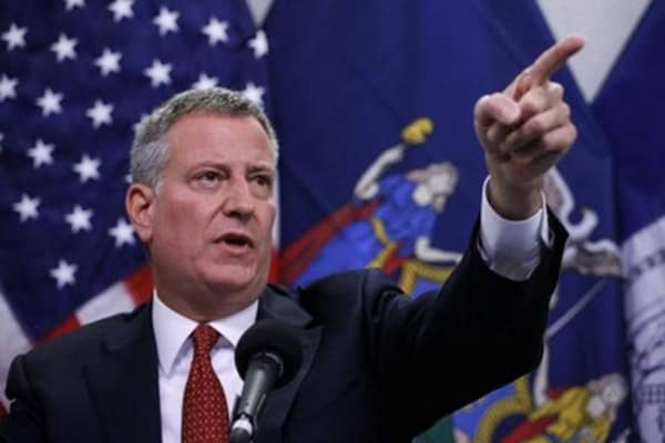 Mayor de Blasio: $15 minimum wage as national standard