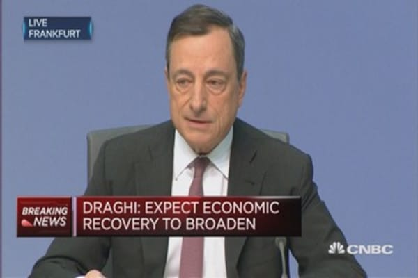 Expect economic recovery to broaden: ECB