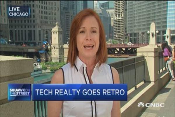 Tech realty goes retro