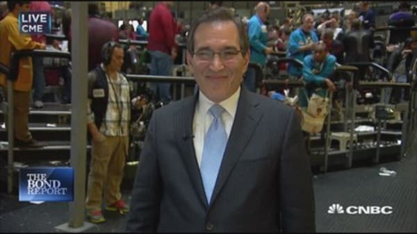Santelli: Yields surge higher
