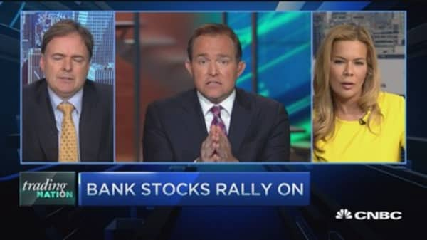 Bank stocks rally