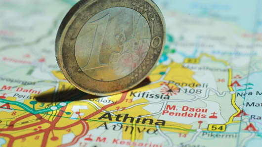 Greece debt Euro