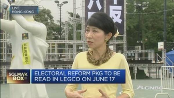 Tiananmen Vigil transcends national frontiers: HK Legislator