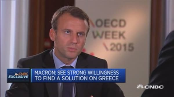 We're willing to reach Greek deal: French Economy Min