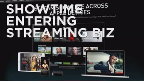 Showtime gets its own streaming service