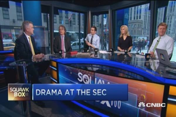 Congress gave SEC 'impossible task': Daniel Gallagher