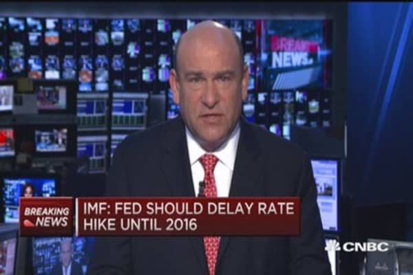 IMF: Fed should delay rate hike until 2016