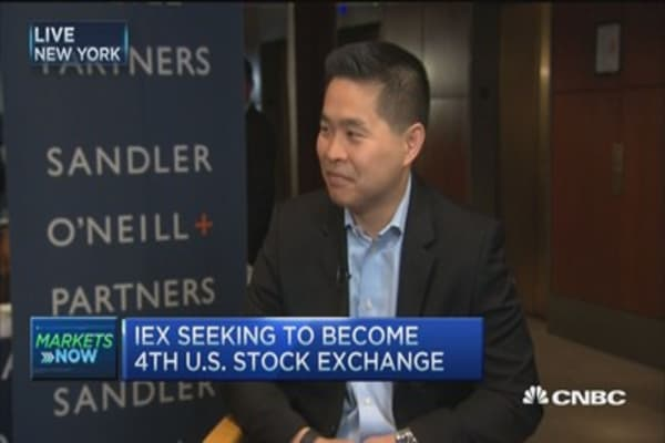 IEX: Hopefully launch exchange 2015