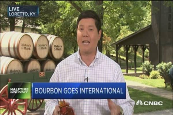 Bourbon goes international