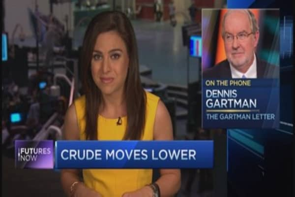 Buy crude now: Gartman