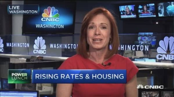How rising interest rates hit the housing market