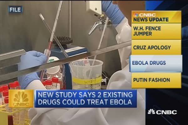 CNBC update: Ebola drugs