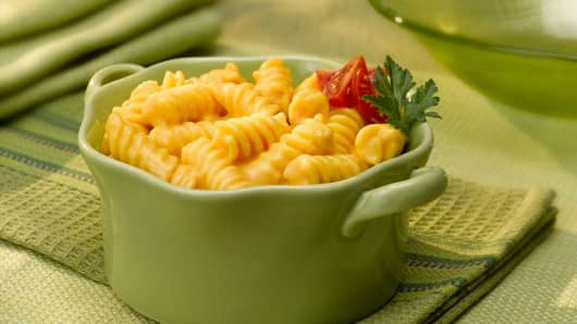 Macaroni & Cheese at Boston Market