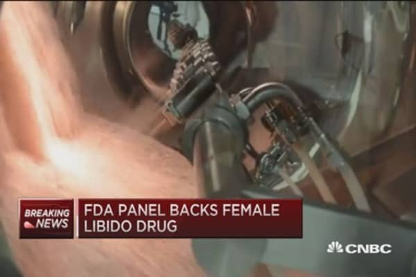 FDA panel backs female 'Viagra'