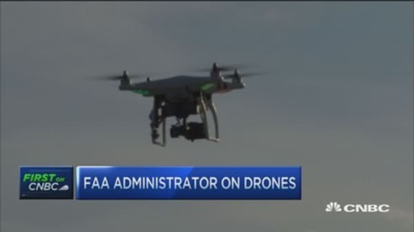 US skies open for drones?