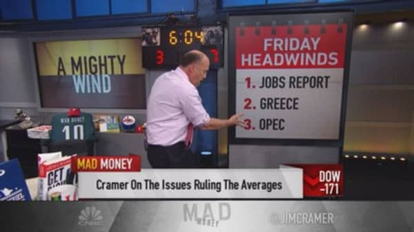 Cramer: Selloff is rational