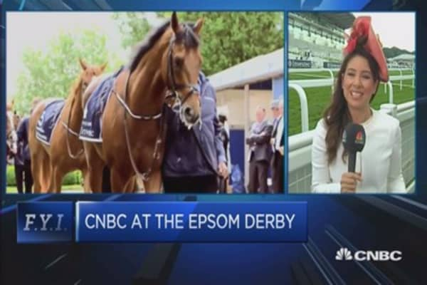 Epsom Derby: More about fashion than sport