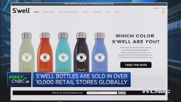Can you bottle success? S'well founder says 'yes'