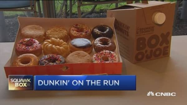 Dunkin' celebrates National Doughnut Day: CEO