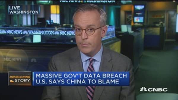 Scale of govt. security breach 'stunning'