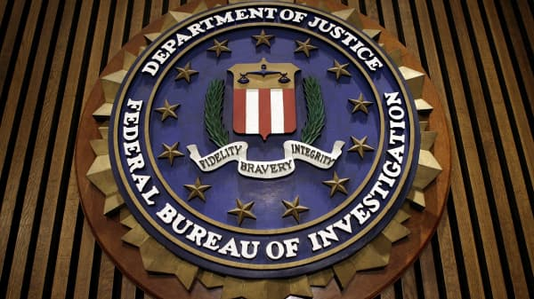 The seal of the F.B.I.