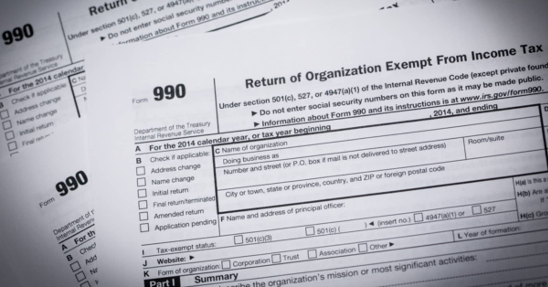 The returns are in: 2016 will be the Form 990 election
