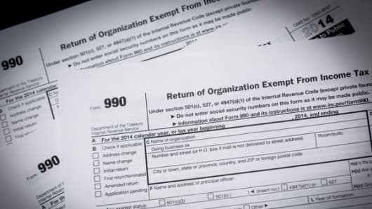 The Returns Are In 2016 Will Be The Form 990 Election