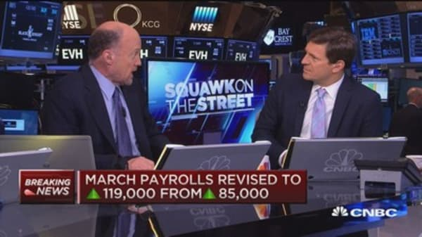 Cramer on the jobs report