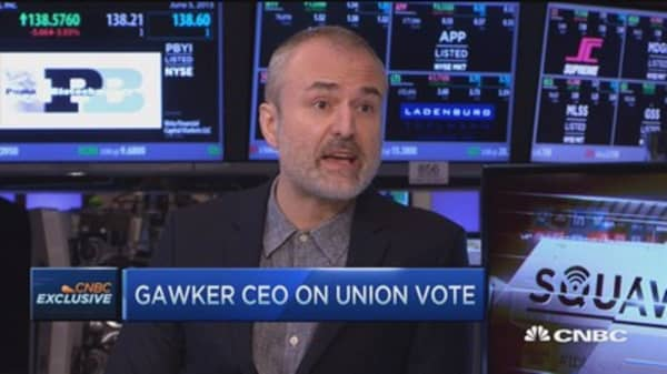 Gawker CEO: Organizing anarchists