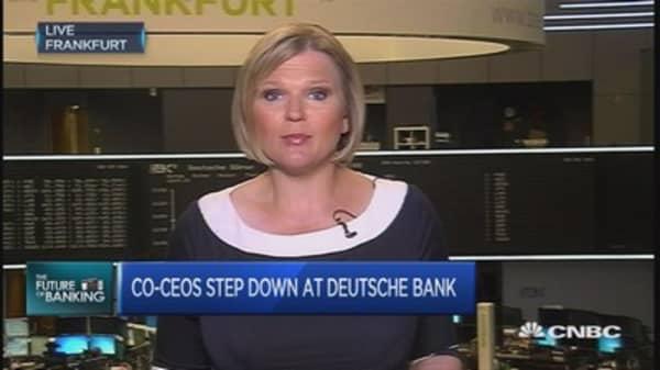 Deutsche Bank hurt by strategy flop